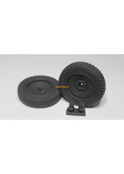Sd.Ah 51 -  resin wheels (2 pieces)