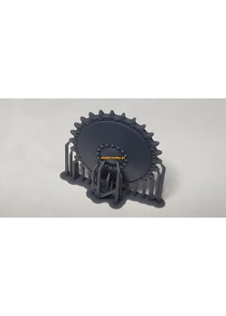 PzKpfw II Ausf. F - resin drive sprocket (2 pieces)