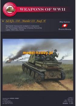 Sd.Kfz. 138 - Marder III Ausf. H