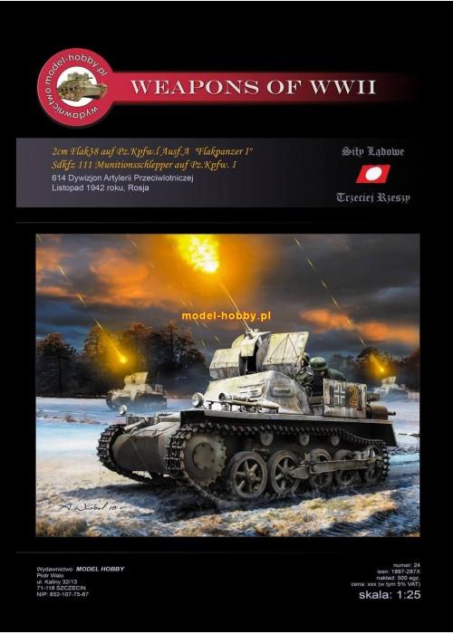 2 cmFlak 38 auf PzKpfw I Ausf.A  Flakpanzer