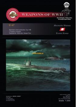DKM U-boot Typ VIIB - (U-47 Gunther Prien)
